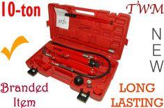 Porta Power 10-ton + kit & case, Long Lasting