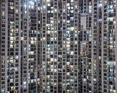 Bence Bakonyi, Urban landscape I, 2013 / 2014 © www.lumas.com/ #LumasArchitecture,  Asia,  at night,  Building,  Buildings,  China,  Cities,  City,  Facade,  Facades,  High-rise building,  High-rise buildings,  Hong Kong,  Major cities,  Major City,  Metropolis,  Metropolises,  Night,  Night Shot,  Night shots,  Photography,  Skyscraper,  Urban,  Windows
