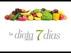 Dieta de los 7 días, rápida y eficaz Diet Recipes, 3 Day Diet Plan, 7 Day Diet, Lose Weight Naturally, How To Lose Weight Fast, Food Portions, Spanish Dishes, Lose 15 Pounds, Fat Burning Drinks, Liquid Diet