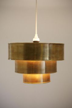 Triple Tiered Pendant Shade #urbanoutfitters
