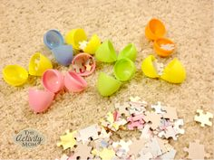 Easter Egg Hunt with Puzzles