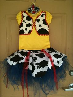Toy Story Jesse TuTu Birthday Cowgirl Outfit by MayberrysBoutique, $45.00
