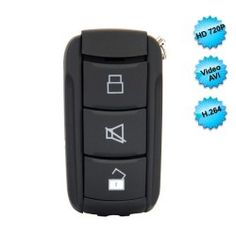 You may like this mini car key, it is special car key built in micro camera with 2.0 mega pixels. multifunction mini car key camera. can take video, resolution 640480. also can take photo 1600*1200. And can take voice. Then have PC cam function. The devic