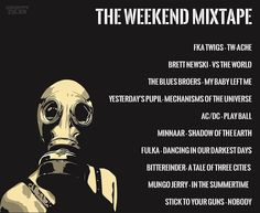 The Weekend Mixtape - Every Friday you can look forward to a new playlist, purposefully designed just to make you smile. Vs The World, Mixtape, Make You Smile, Blues, Friday, Make It Yourself