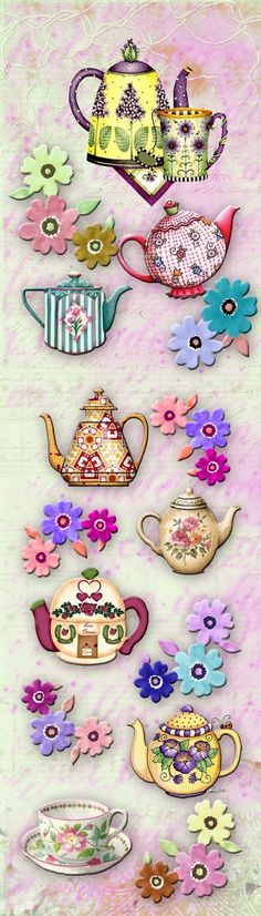 I'm gonna make some tea magnets next time for our tea party!!