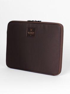Mathematik M1 clutch for laptop 13 Brown