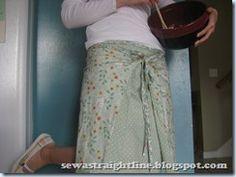 Reversible skirt tute