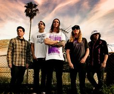 "The Dirty Heads are a band based out of sunny California. Their breakthrough hit ""Lay Me Down"" helped them make a name for themselves in the subculture raggae/rock market. They've since released several albums, each gaining commercial success with singles ""Spread Too Thin"" and ""My Sweet Summer"". An awesome band with an awesome style to boot."