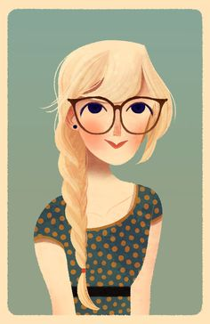 Pretty much the blonde version of me.