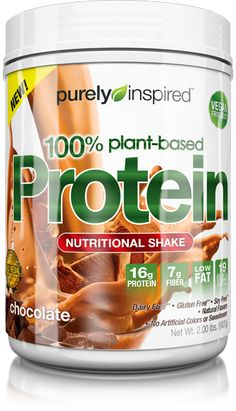 100% Plant-Based Protein Nutritional Shake Product Image