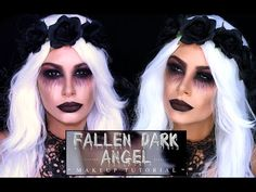 Fallen Dark Angel - Halloween tutorial