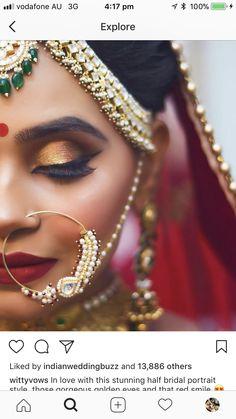 44 Ideas for marathi wedding photography indian bridal Bridal Poses, Bridal Photoshoot, Bridal Shoot, Bridal Portraits, Wedding Shoot, Bridal Makeup Looks, Indian Bridal Makeup, Wedding Makeup, Indian Wedding Photography