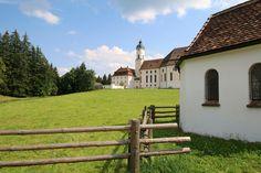 Bavaria Germany, Kirchen, Pilgrimage, Rococo, Dom, World Heritage Sites, Alps, Restoration, Mansions