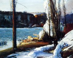 The Palisades, by George Wesley Bellows