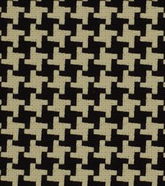 Upholstery Fabric-Robert Allen Square Pegs Noir: upholstery fabric: home decor fabric: fabric: Shop | Joann.com