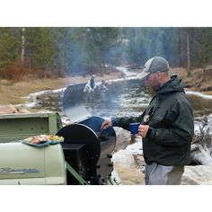 There's no need to sacrifice flavor when you're traveling and adventuring this summer. From the mountains and the lake to the sand dunes and the beach, take your trusty Traeger off the beaten path or grab a perfectly portable Tailgater grill -- you can ea