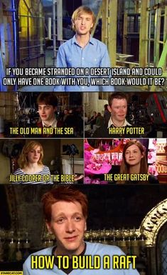 Harry Potter and the Desert Island. - - More memes, funny videos and pics on Blaise Harry Potter, Harry Potter Puns, Harry Potter Pictures, Harry Potter Cast, Harry Potter Comics, Harry Potter Last Movie, Facts About Harry Potter, Funny Harry Potter Quotes, All Harry Potter Spells
