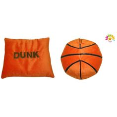 F.A.Systems dba MICRO WORLD Basketball (Swish or Dunk) Pillow - 5GMOPIMW-BAS-ST