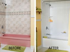 Bath fitters Remodeling costs and Bathroom renovations on Pinterest