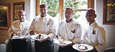 Villa Olmi Kitchen Staff