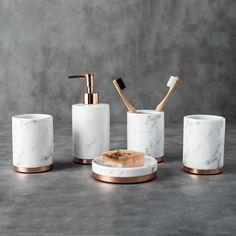 bathroom sets toothbrush holder High quality marble ceramics Washing mug bathroom Supplies Bed, Cheap Bathroom Accessories, Toilet Accessories, Bathroom Accesories, Bathroom Towels, Bathroom Sets, Bathrooms, Bathroom Cleaning, Bathroom Storage, Master Bathroom