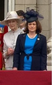 Princess Alexandra, the Lady Ogilvy with her niece, the Countess of St. Andrews, June 14, 2014 | Royal Hats