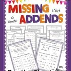 Teach students the basics of addends, missing addends, and using the unknown addend to solve subtraction with this set of practice sheets!  The pra...