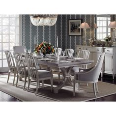 Stanley Furniture Preserve Extendable Dining Table