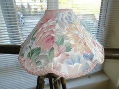VINTAGE CIRCA 1980'S SHABBY CHIC FLORAL LAMPSHADE in Home, Furniture & DIY, Lighting, Lampshades & Lightshades   eBay Vintage Lampshades, Floral Lampshade, 1980s, Shabby Chic, Lighting, Diy, Furniture, Home Decor, Decoration Home