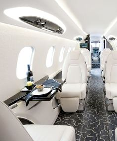 Are you interested in chartering a private jet? Over the past few years, the popularity of private jet charters has increased. Jets Privés De Luxe, Luxury Jets, Luxury Private Jets, Private Plane, Insta Private, Private Jet Interior, Aircraft Interiors, Billionaire Lifestyle, Luxe Life