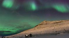 Auroras boreales desde las islas Feroe (Atlántico Norte)   El Universo Hoy