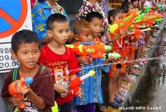 Island Info Samui, Songkran, Water Fight, Tours, Party.3