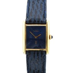Vintage Cartier Must De Tank Watch