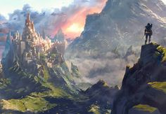 castle fantasy concept instagram