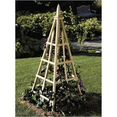 Pyramid Trellis woodworking plans