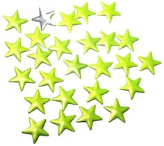 50 PCS Yellow Hotfix Stars for Crafts and Nails Art #etsyshop #etsy #nailsart