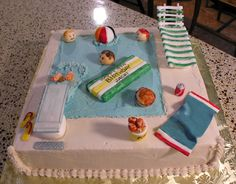 best pool party cakes 2014