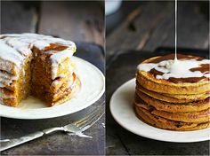 What We're Loving: Pancakes Cappuccino Pancakes with Mocha Syrup