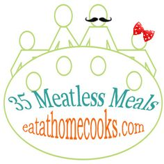 Meatless meals! Good ideas for Meatless Monday.  www.eatathomecook...