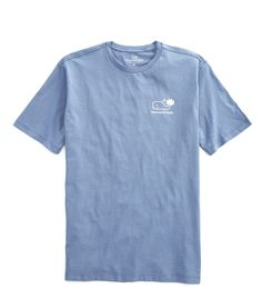 """Go ahead—come up with a better name. We came up with """"whalemetto"""" while enjoying a cool beverage in the shade of a palmetto tree, wearing a very comfortable cotton men's t-shirt just like this one."""