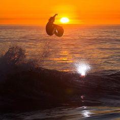 sunset air