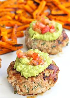 Whole30 Lunches: Jalapeno Turkey Burgers