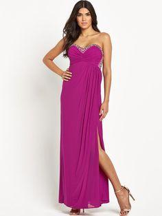 Lipsy VIP Embellished Maxi Dress | very.co.uk