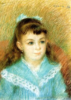 Pierre Auguste Renoir - Portrait of a young girl (Elisabeth Maître) at Albertina Museum Vienna | by mbell1975