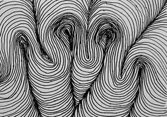 Student example of LINE  TEXTURE? PATTERN? RHYTHM?  Line element