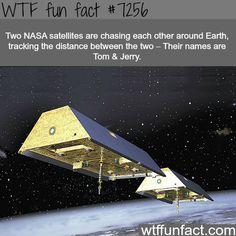 Tom & Jerry satellites - WTF fun fact #InterestingStuff