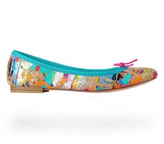 Ballerina Cendrillon Multicolor Cork by Repetto - Collection spring-summer 2014
