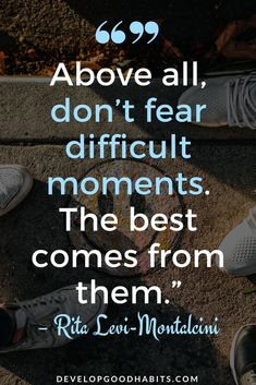 Learn to conquer fear with these fear quotes | quotes about fear | quotes on fear #quote #quotes #qotd #quoteoftheday #quotesoftheday #quotestoliveby #inspiration #motivation #successquotes #lifequotes #success