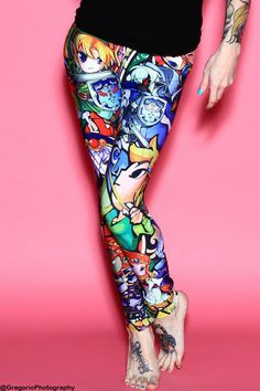 Limited Edition Chibi #Zelda Leggings by Living Dead ($44)