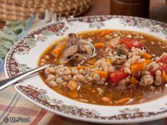 Amish Beef Barley Soup